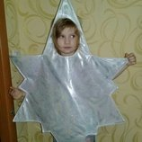 Карнавальный костюм Снежинка.