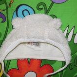Теплая шапка, H&M, р.62-68