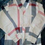 Burberry 5 6 лет рубашка реплика на мальчика