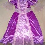 Продам в новом состоянии,фирменное Disney, красивое платье Принцессы ,Золушки, Рапунцель, 5-7 лет.