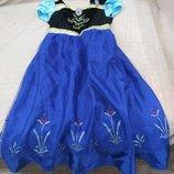 Продам в новом состоянии ,фирменное Disney, красвенное платье Анны,эльзы, 9-11 лет