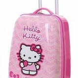 Детский чемодан на колёсах Hello Kitty