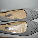 Балетки туфлі стильні брендові шкіряні Gabor Оригінал Німеччина р.6,5 стелька 26 см