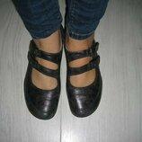 Оригинальные кожаные туфли Durea.Голландия.38 размер