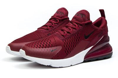 Кроссовки Nike Air 270, бордовые , 40.41.42,43.44,45.46 размер новинка обнова весна 2019