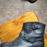 Кожаные ботинки,ботильоны Mango,38 размер