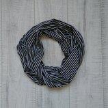 Трикотажный шарф полоска M&Co