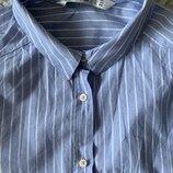 Стильная рубашка в полоску Zara S