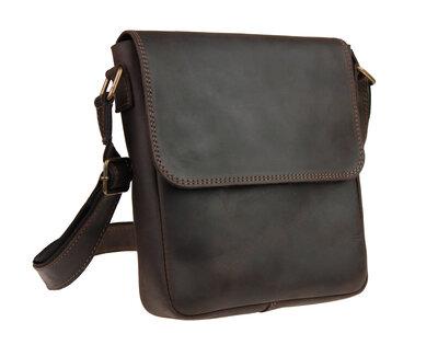 Кожаная мужская сумка. Кожаная барсетка