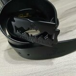 Ремень кожаный в стиле Philipp Plein Филипп Плейн лезвие , унисекс