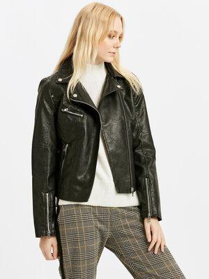 Куртка косуха женская кожаная новая Турция S M L XL XXL XXXL 46 48 50 52 54