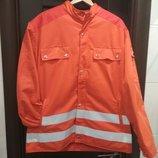 Рабочий бушлат, куртка с подкладкой и светоотражающими элементами.Рабочая куртка.Спецодежда.Германия