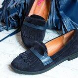 Туфли из натуральной кожи замши Новинка Производитель Украина
