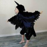 Прокат Карнавальный костюм птиц , Ворона Ворон ласточка, сорока, ворона, шпак