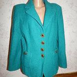 пиджак, жакет шерстяной стильный модный р16