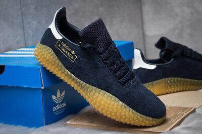 Кроссовки Adidas Kamanda, темно-синий 14863 , 41.42.43.44.45 размер замша новинка весна 2019