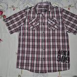Рубашка короткий рукав хлопок