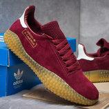 Кроссовки Adidas Kamanda, бордовые 14864 , 41.42.43.44.45 Размер новинка замша 4 цвета