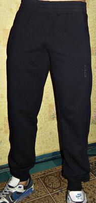 Спортивные штаны Reebok лето манжет темно-синие.