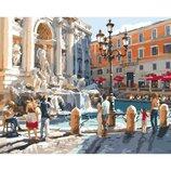 Картина по номерам Европейские каникулы 40 50см KHO2152