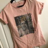 Гламурная футболка Next в стиле принцесса