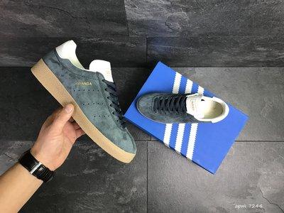 Adidas Topanga кроссовки мужские демисезонные темно синие 7244
