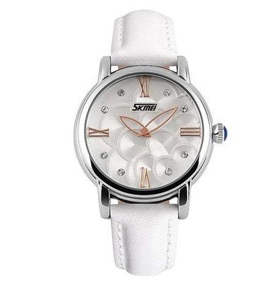 Женские наручные часы Skmei Paris. Стильные классические часы девушке