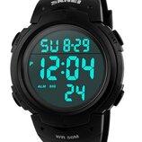 Мужские наручные часы Skmei 1068 Sport Style. Спортивные электронные часы с подсветкой