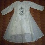 Платье длинное восточный стиль на подкладке Hand Made