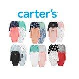 Комплект бодиков Carters Новая коллекция 2019