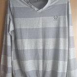 Мужская футболка с длинным рукавом размер 50-52