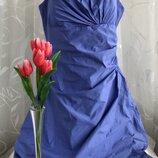 Нарядное вечернее платье сарафан VERA MONT, l, 48-50.