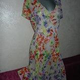 18/52 BHS Англия Легкое воздушное летнее нарядное платье,новое