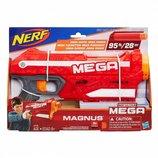 Бластер с мягкми пулями Магнус Magnus, Blaster, Mega, Nerf, Hasbro A4887