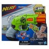 Пистолет Нерф Двойной удар по зомби Double Strike, Zombie Strike, Nerf, Hasbro