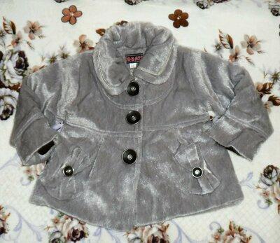 Пальто для принцессы на 4-5 лет