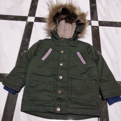 Куртка парка для мальчика Pocopiano Германия 74-80 87b2aa9364b8d