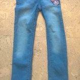 Много новых джинсов на девочку 2-14 лет