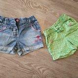 Летние шортики на девочку Disney, Gymboree, 18-23 м, 3 Т