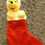 Рождественский Носок башмак сапог сапожок для подарков Disney Винни-Пух Дисней