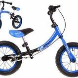 Детский беговой велосипед бумеранг. Польша. Н.