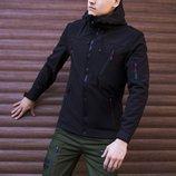 Ветровка мужская Pobedov куртка софтшелл весенняя мужская курточка Soft Shell