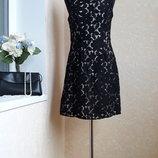 Круживное платье f&f 8 размер
