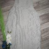 100% шелк короткое платье от H&M р. 6 рекомендуемые параметры 165/84А