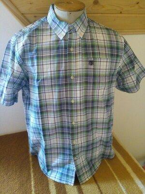 Мужские рубашка клетка розмір-42-44