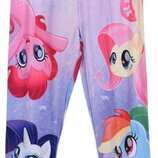 Красивые лосины для девочек Little Pony Литл Пони Дисней