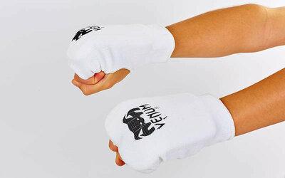 Накладки для карате перчатки для карате Venum 0009V хлопок эластан, XS-L