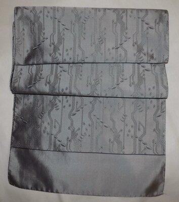 Шарф мужской, кашне, шёлк-жаккард, винтаж, 29х156