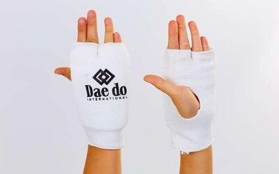 Накладки для карате перчатки для карате Daedo 0009D хлопок эластан, XS-L