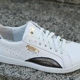 Женские кожаные кроссовки Puma